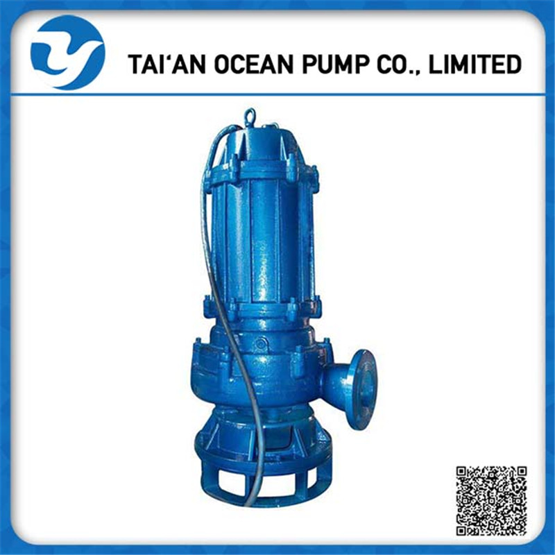 High quality flood control QW submerisible sewage pumps