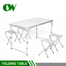 Lower price metal carry case catering travel beach aluminum outdoor camping picnic folding table chair
