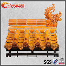 newly products Chinese ceramic tiles roofing for antique temple