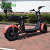surpa electric scooter germany/front rear suspension APP/2 seat/ two battery citycoco fat tire 1000w 1500w e car motorcycle