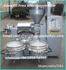 200kgs/hour peanut sesame sunflower seed cold screw oil press machine with 7.5kw electric engine