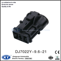 auto waterproof 2 pin male female plastic connectors for cars