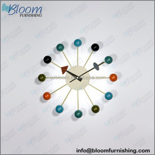 Replica George Nelson Ball Wall Clock, George Nelson clock, ball wall clock