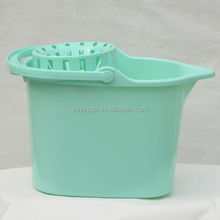 17L plastic mop bucket with wringer