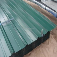 Shandong zinc galvanized steel corrugated metal roofing iron tile sheeting with price