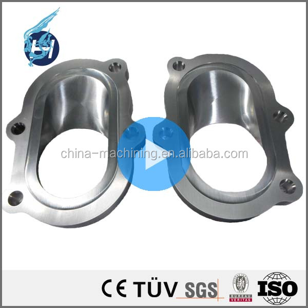 ISO 9001 high precision high quality CNC machining slow-wire cutting stainless steel flange with best price