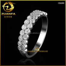 CR6880 fashion simple design 925 sterling nice silver finger ring