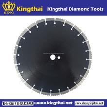 Diamond cutting tools laser welded high speed wave segmented saw blade for concrete brick block masonry and stone