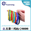 New Decoration Silicone Colorful Bracelet Funny Wristband