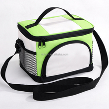 China supplier polyester 450D/650D lunch cooler bag waterproof ice cooler bag with custom logo