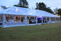 10*20m Aluminum arabic clear roof wedding tent