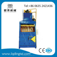 25tons (electric button operate)vertical(double inclined cylinder)compression compression machine