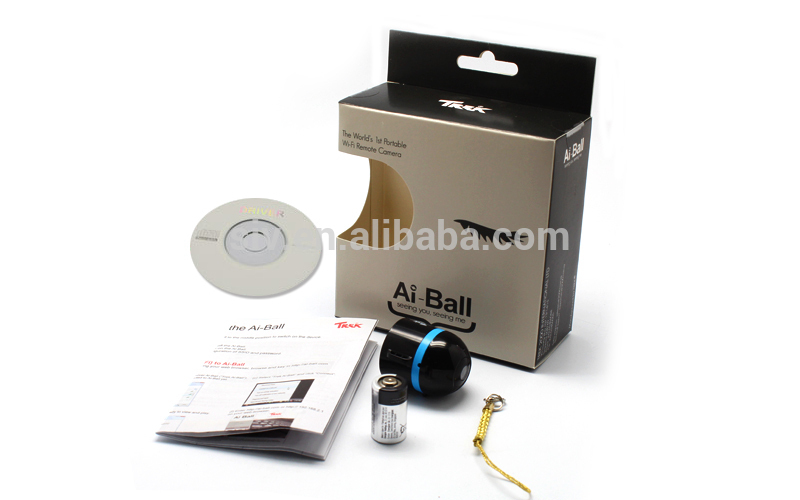 Newest SIV AI-BALL 60 degree view angle baby monitor camera