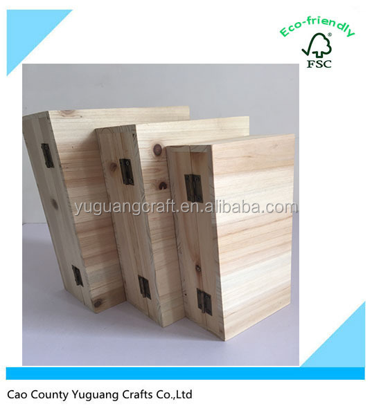 Yuguang supply wooden art and crafts box small wooden gift for Wooden craft supplies wholesale