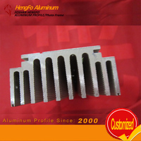 Factory Lowest Price Anodizing Extruded Aluminum Radiator Profile