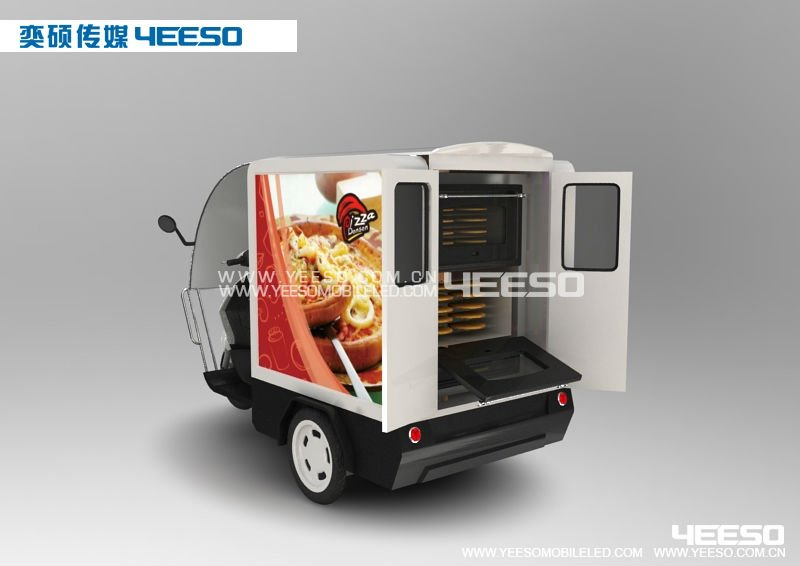 mobile advertising tricycle, advertising motorcycle