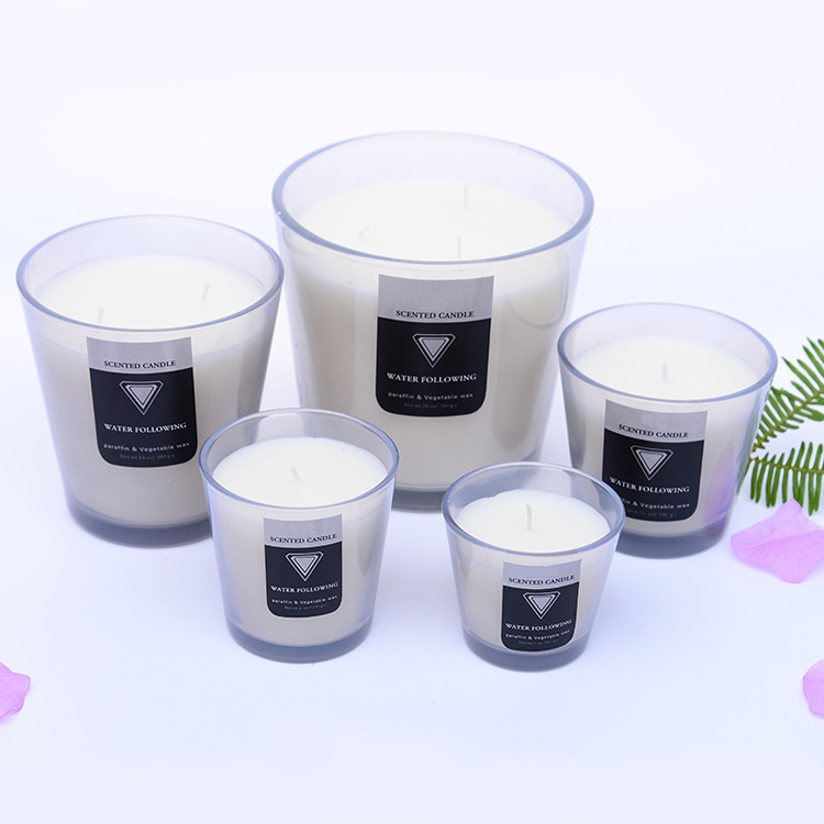 Home fragrance candles smoke-free environmental gift jar candle