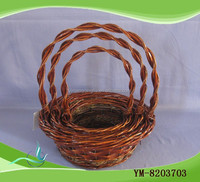 Buy cheap handmade brown willow fruit basket in China on Alibaba.com