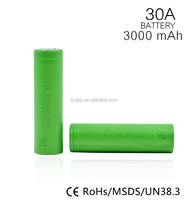 100% original US18650 3000mah 30A best quality VTC6 18650 battery for camera & power tools