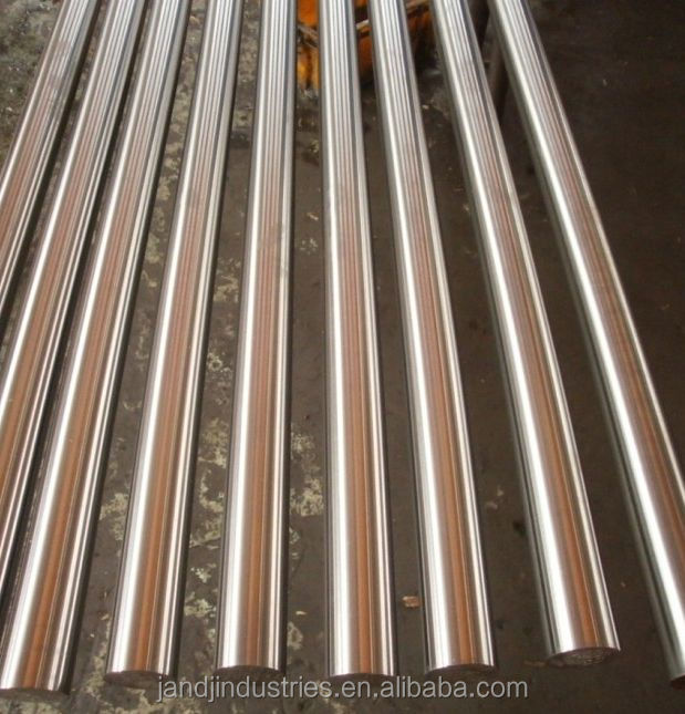 Induction Harden Hard Chrome Plating Steel Round Bar
