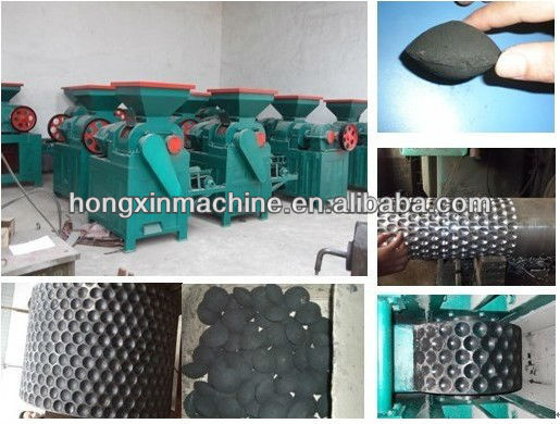 Pillow shape coal and charcoal powder briquette machine/coal briquette machine/charcoal machine