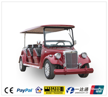 fully aluminum chassis 8 seater campus pickup car electric