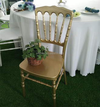 factory direct supply resin napoleon chiavari chair for wedding