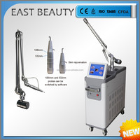 q-switched nd:yag laser articulated arm tattoo birthmark removal