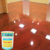 Mirror appearance epoxy solvent-free self-leveling floor paint