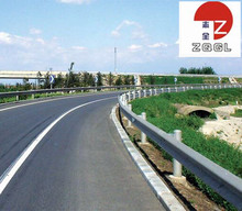 Hot sale W beam galvanized road guardrail