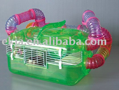 Plastic funny Hamster cage