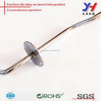 Best quality OEM metal bracket Stainless steel rod bending chromplated for sale