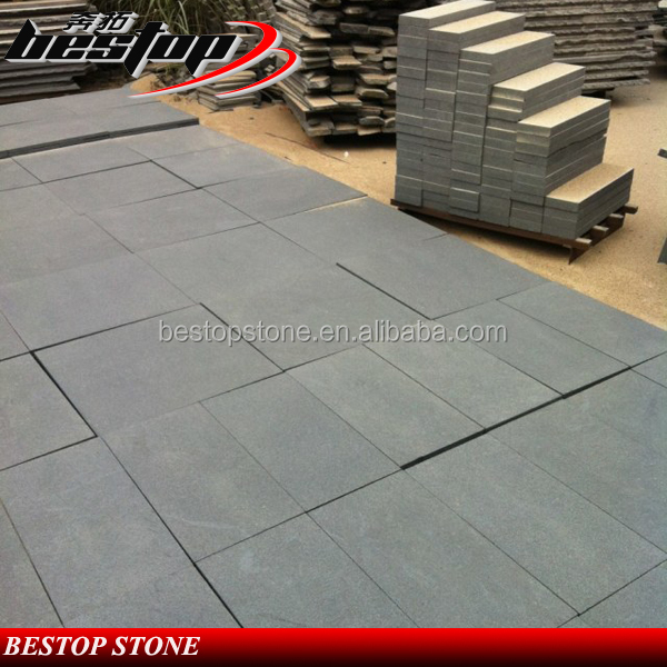 G684 Honed Surface Granite Tiles