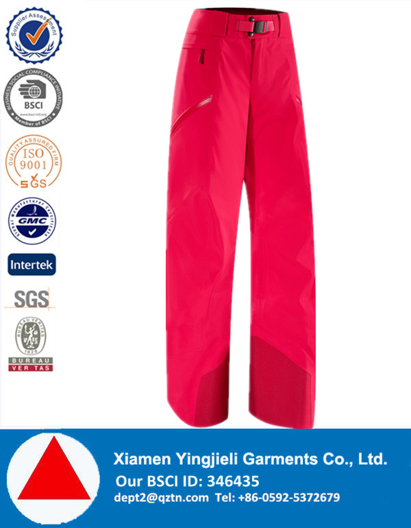 Wholesale Women In-Stock Ready color Waterproof Ski pant