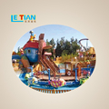Amusement Park Large Water and Land Roller Coaster Factory Price for sale