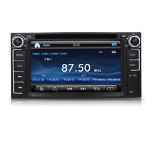 Pioneer 2din 6.2inch Car dvd player build-in Radio,GPS,Bluetooth,SWC,3D UI for toyota