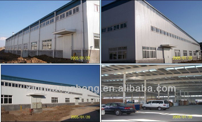 Prefabricated industrial warehouse