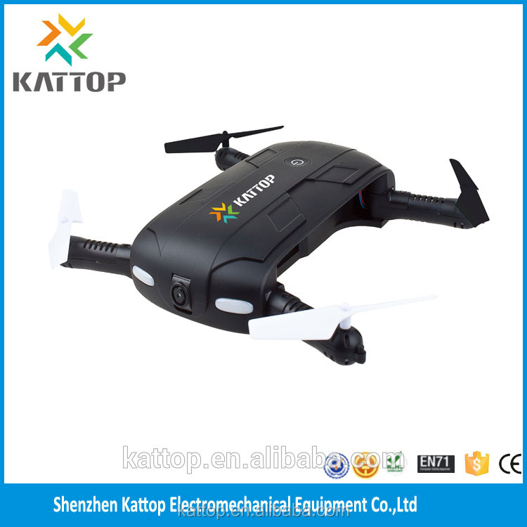 2017 newest mini rc foldable drone with hd camera,Kattop K12 WIFI FPV Altitude Hold quadcopter best selfie pocket folding drone