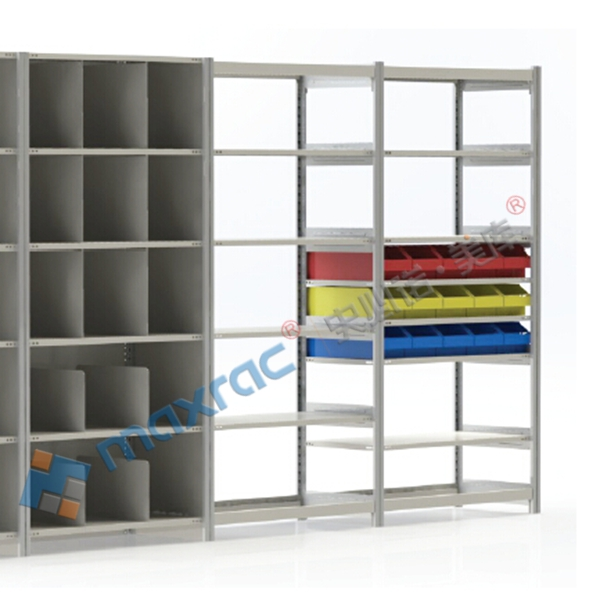 Metal Boltfree Shelving Rack, Soltted Angle Retail Display Rack, Boltless and Nuts Rack