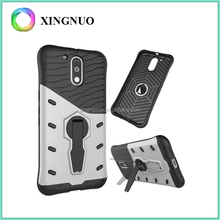 New Products 2016 Rugged Hybrid Case for Moto G Plus 4th Generation
