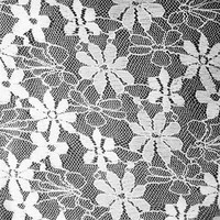 white color beautiful African lace fabric for wedding dress TH-2067