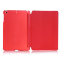 Ultra Slim Smart Cover PU Leather Case Stand belt clip case for ipad