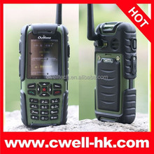 2.0 Inch Outfone BD351 Single SIM IP57 Waterproof Rugged Mobile Phone with Walkie Talkie