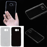 Hot Selling Clear Crystal Transparent Hard Back Cover Skin for Samsung Galaxy S6 Case