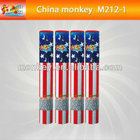 1 Shots hand hold single shot roman candle fireworks for sale(M212-1)