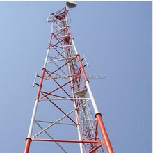 top sale green field triangular tower telecommunication steel tower