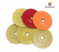 MIDSTAR microfiber polishing pad for angle grinder grit 1000# 4inch