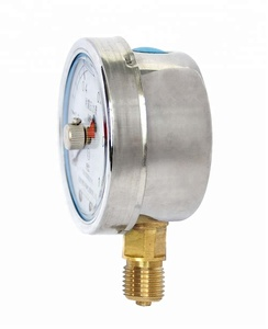 High Quality dual needle air steam pressure gauge for sale