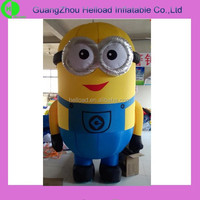 2015 High quality Despicable Me minion inflatable minion cute minion for sale