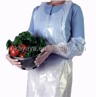 2015 High Quality LDPE HDPE Disposable Kitchen Plastic Apron/PE Bibs Cheap Bulk Aprons Adult Bib Aprons